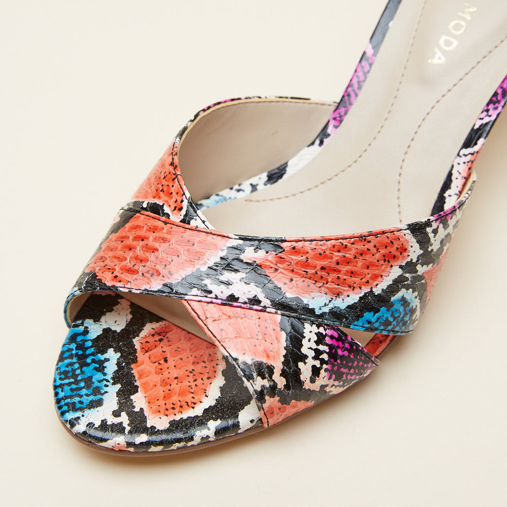 Bea 2 (Bright Multi/  Snakeskin) 30% Off