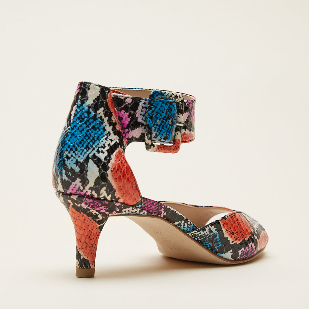 Berlin 5  (Bright Multi/ Snakeskin) 30% Off