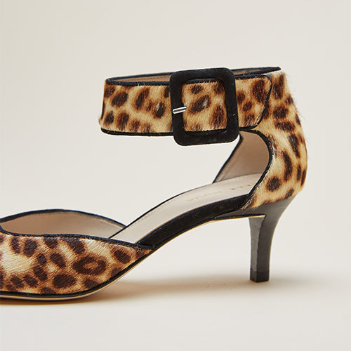 Berlin 4 (Leopard / Calf Hair) 50% Off