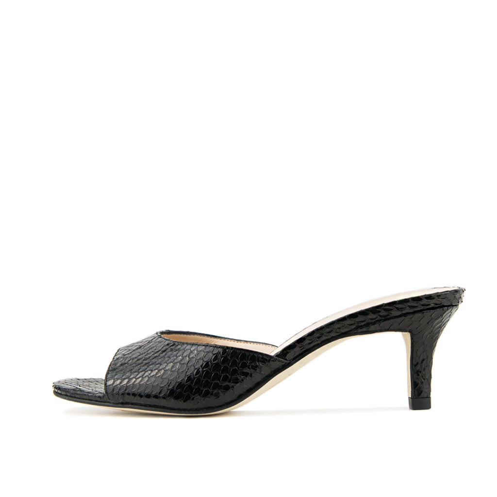 Bex 2 (Black /Snake Leather)