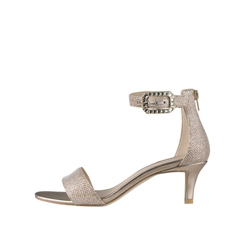 Bette (Platinum Gold / Metallic Textile) - Pellemoda.us  - 1