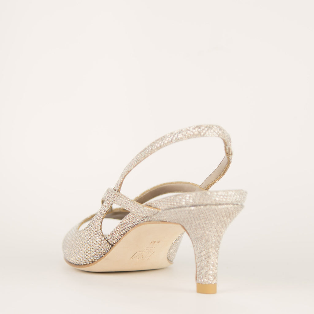 Biel Low Heel - Gold