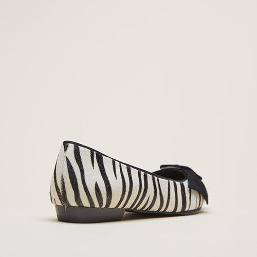 Dana 2 (Cream /Black/Calf Hair) 30% Off