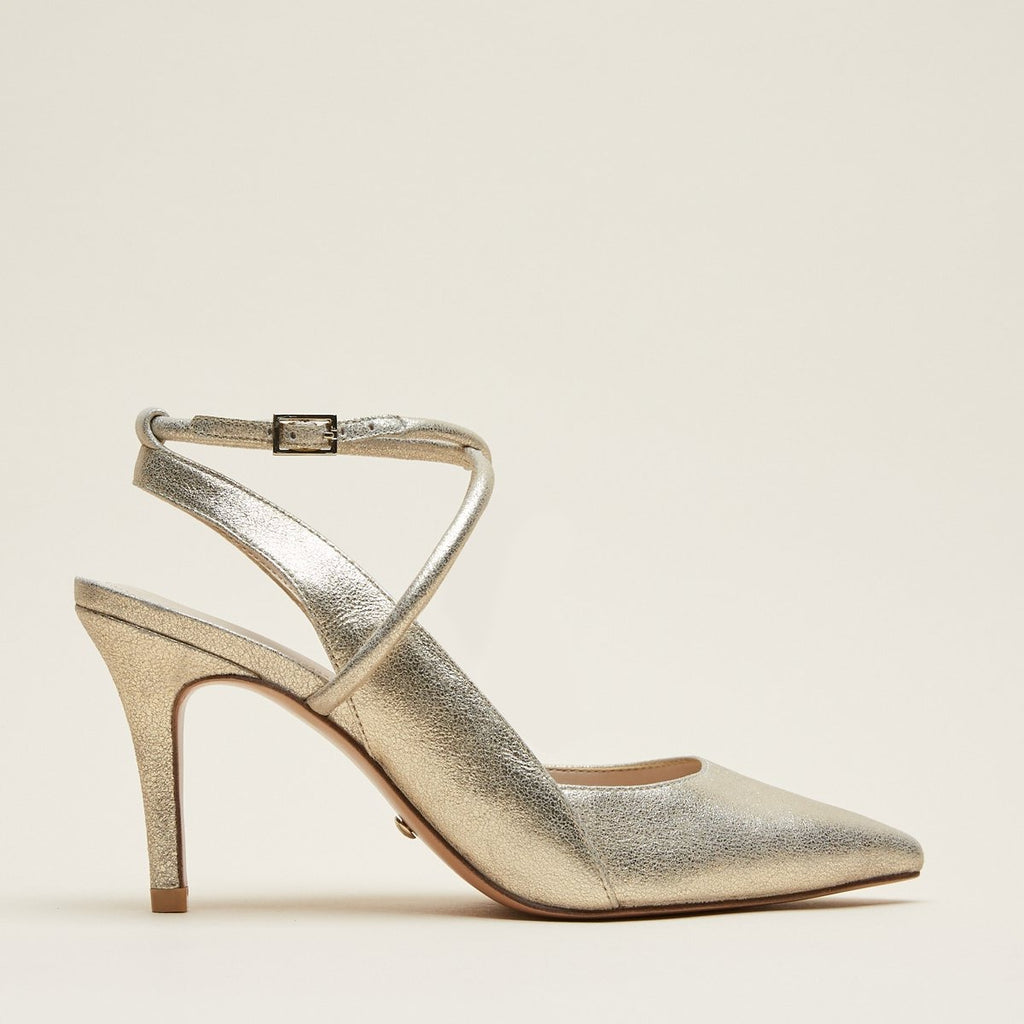 Winslet (Platinum Gold/Metallic Suede) 30% Off