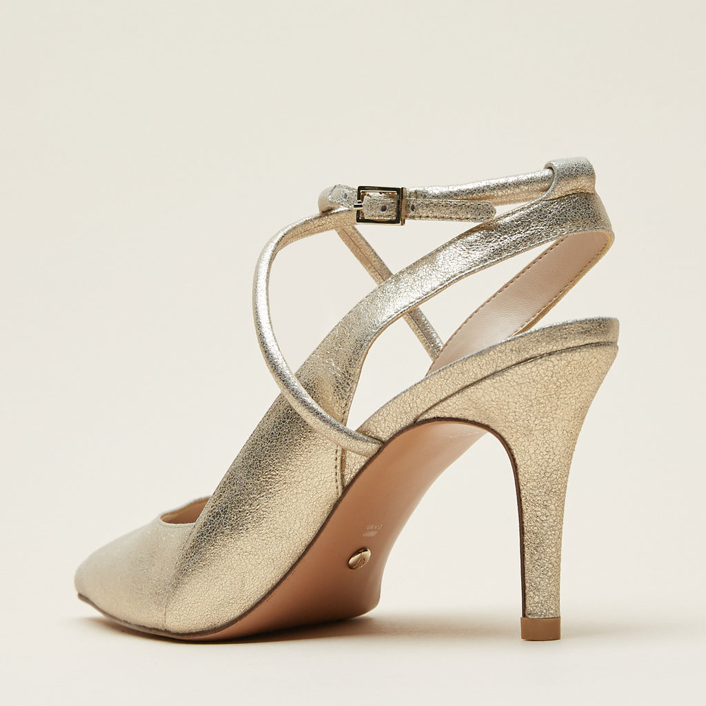 Winslet (Platinum Gold/Metallic Suede) 70% Off