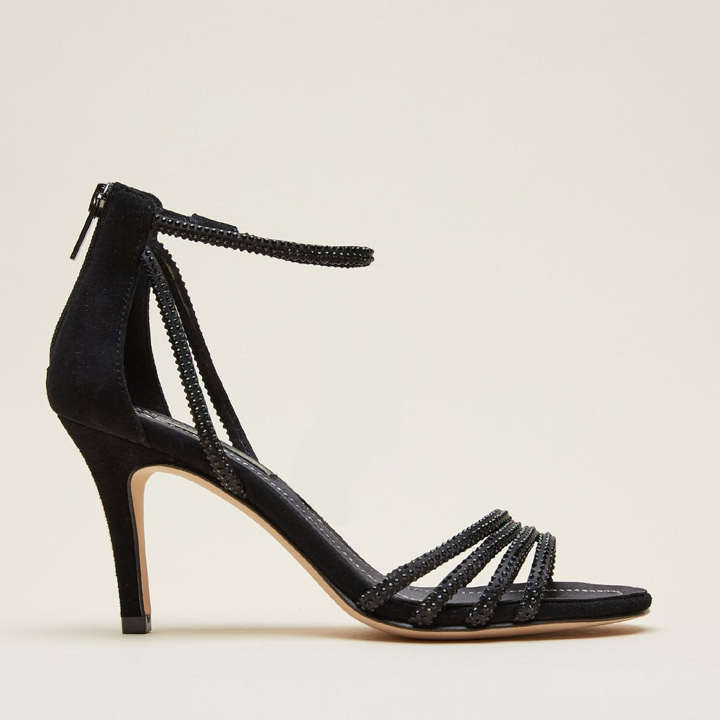 Roux  (Black / Satin/Kid Suede) 30% Off