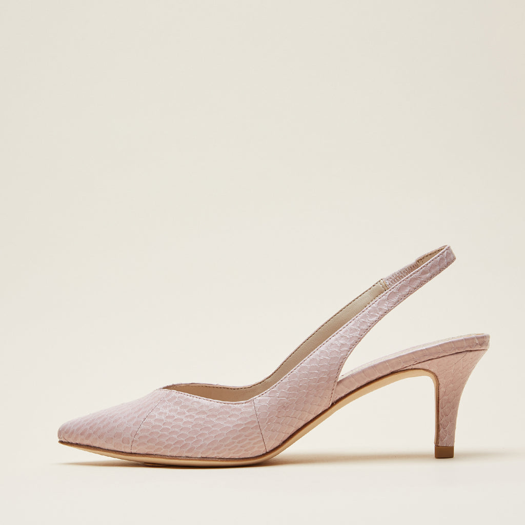 Kerstin 3 (Rose /Snakeskin) 40% Off