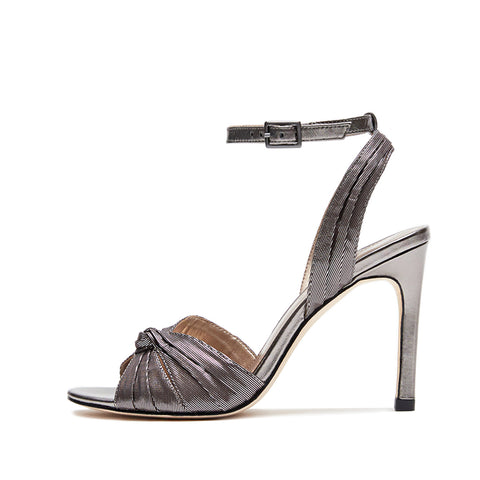 Alicia (Silver / Satin) 50% Off