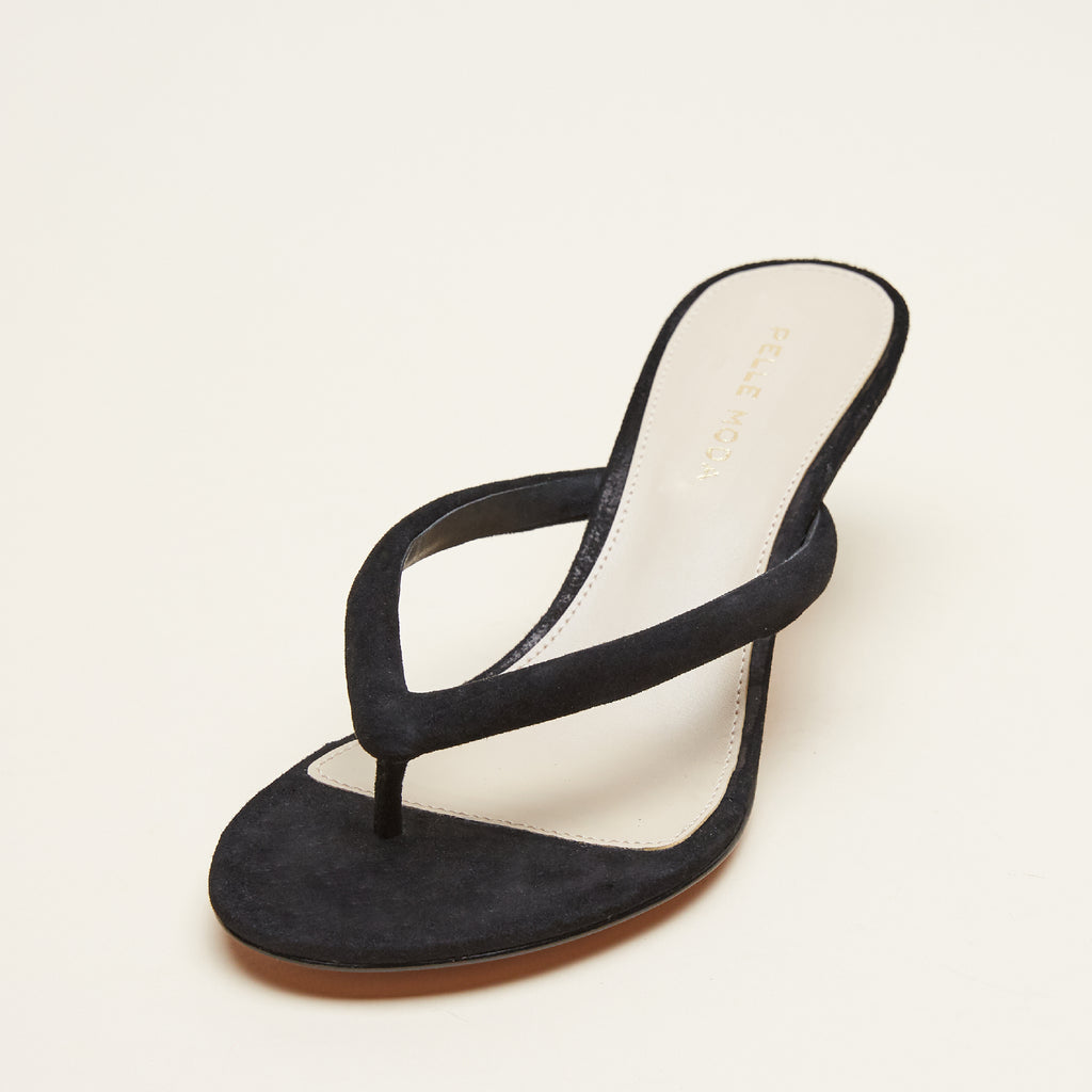 Eunice  (Black/ Kid Suede) 50% Off