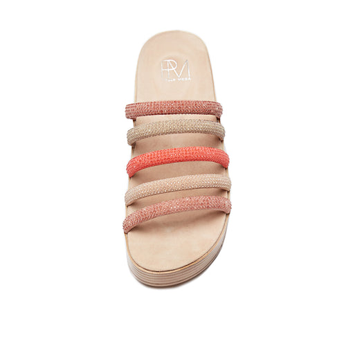 Fanny (Blush Multi/ Kid Suede Leather) 60% Off
