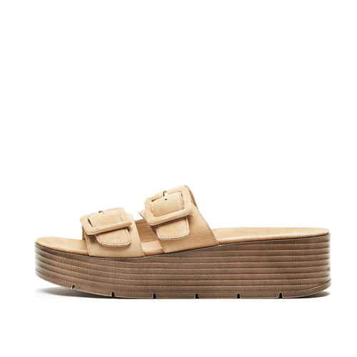 Fatima (Sand / Kid Suede) 60% Off