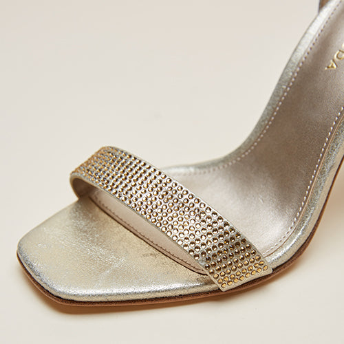 Gabi 3 (Platinum Gold/ Metallic Kid Suede) 30% Off