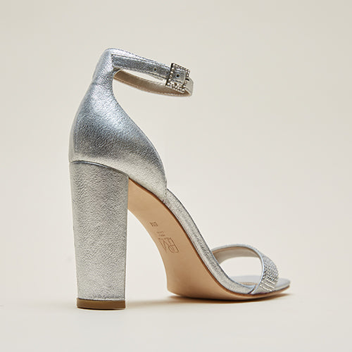 Gabi 3 (Siver/Metallic  Kid Suede)