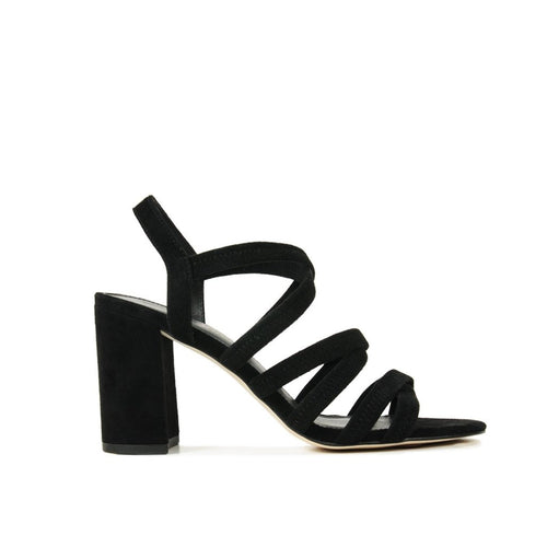 PELLE MODA - Grace (Black / Kid Suede)