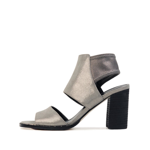 Grey (Pewter Shimmer Suede / Metallic Mesh)