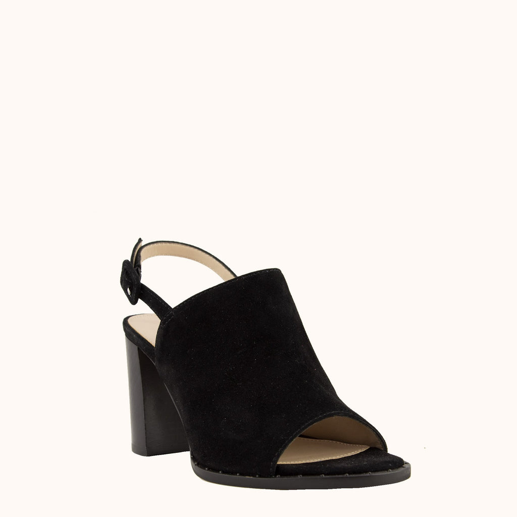 Grove Block Heel - Black