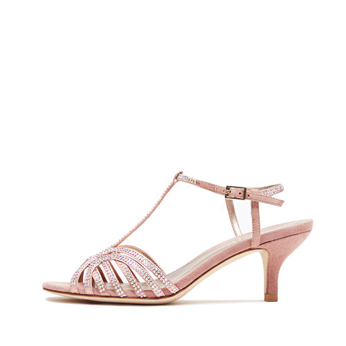 Ilane (Blush / Satin /Kid Suede Combo) 30% Off