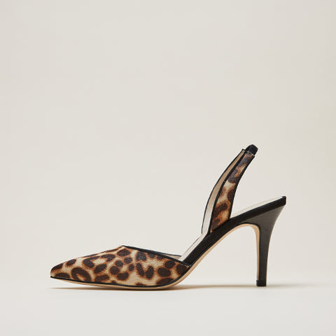Yesnia 2 ( Cream Leopard/ Zebra/ Calf Hair