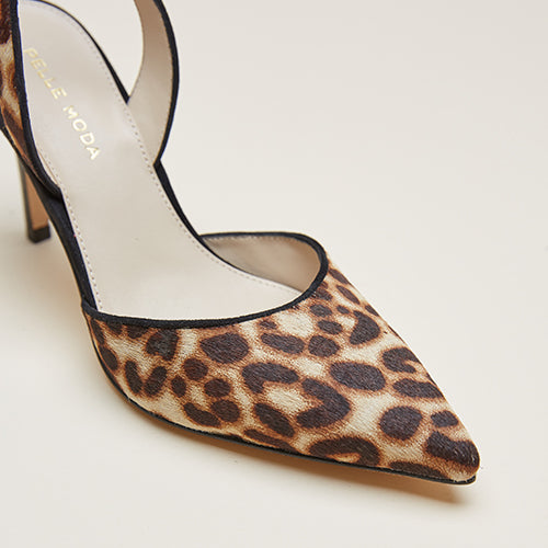 Ima (Leopard / Calf Hair) 50% Off