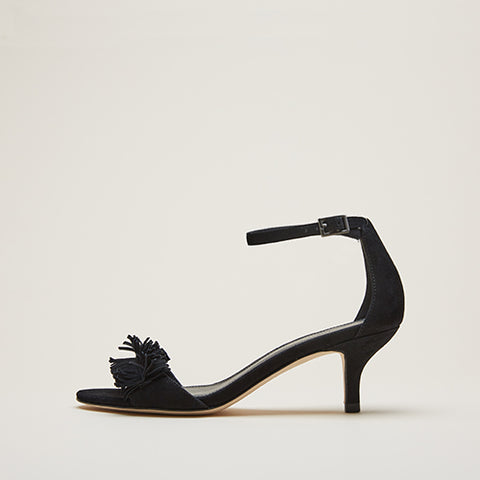 Keana (Black / Kid Suede)