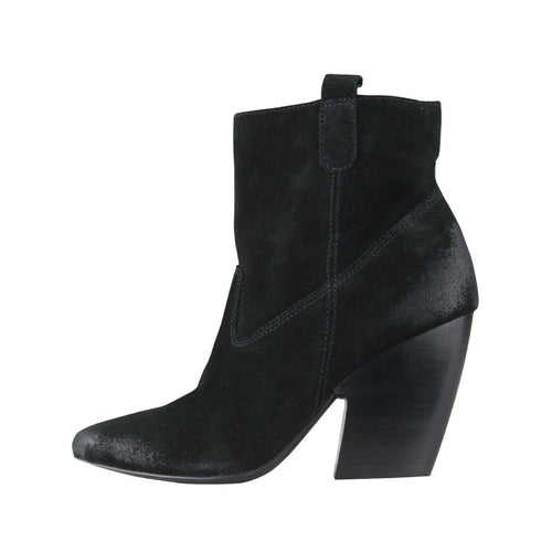 Jase (Black / Cow Suede) - Pellemoda.us  - 1
