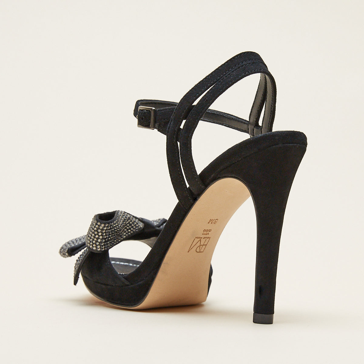 Jem (Black / Kid Suede/Satin)