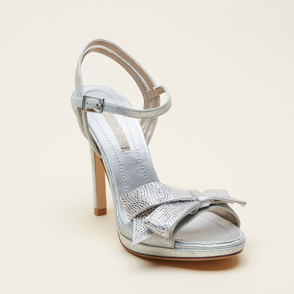 Jem (Silver / Metallic Suede) 40% Off