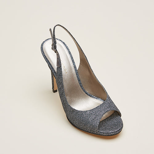 Joey 2 (Pewter/Metallic Textile) 30% Off