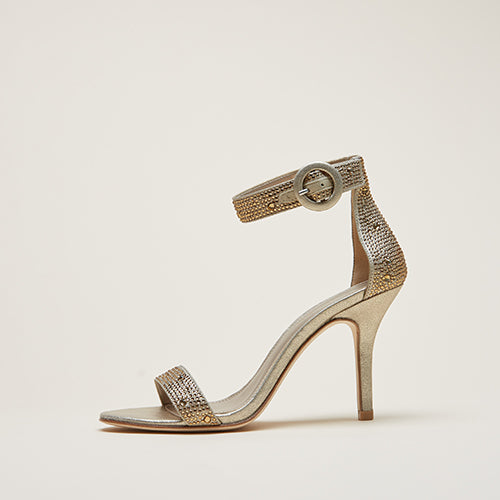 Kallie 2 (Platinum Gold / Metallic Suede)