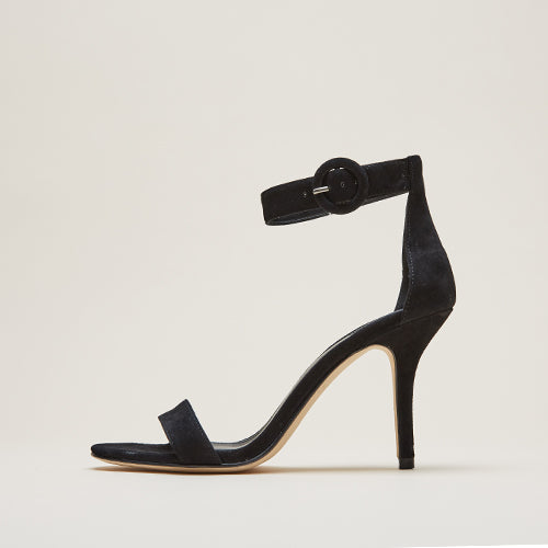 Kallie  (Black / Kid Suede)