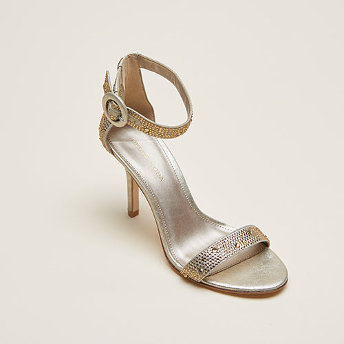 Kallie 2 (Platinum Gold / Metallic Suede) 50% Off