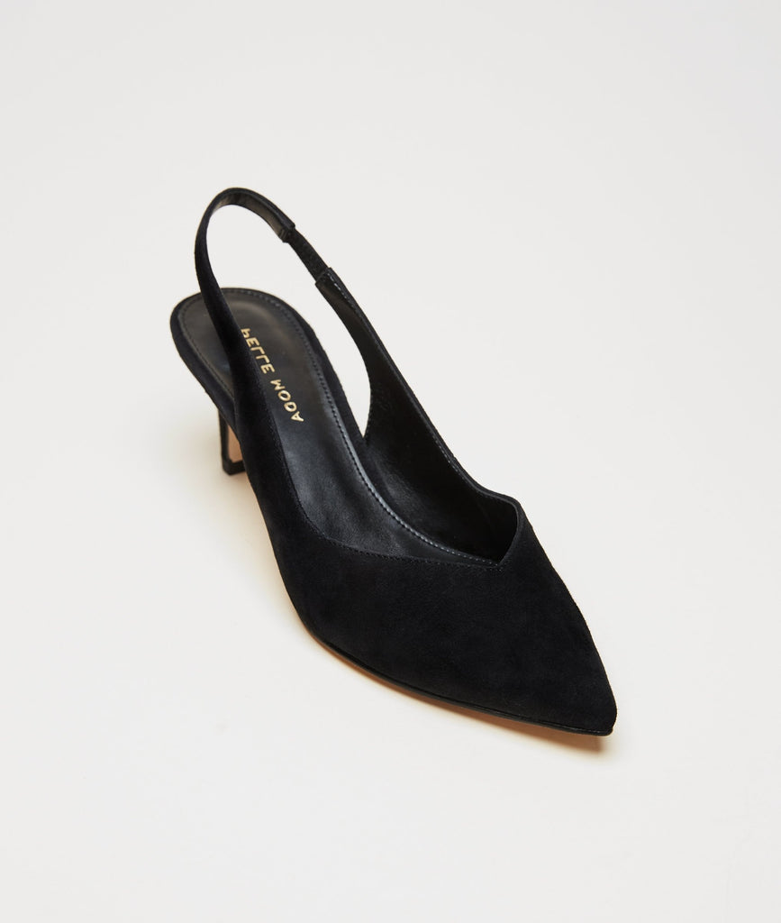Kerstin (Black / Kid Suede)