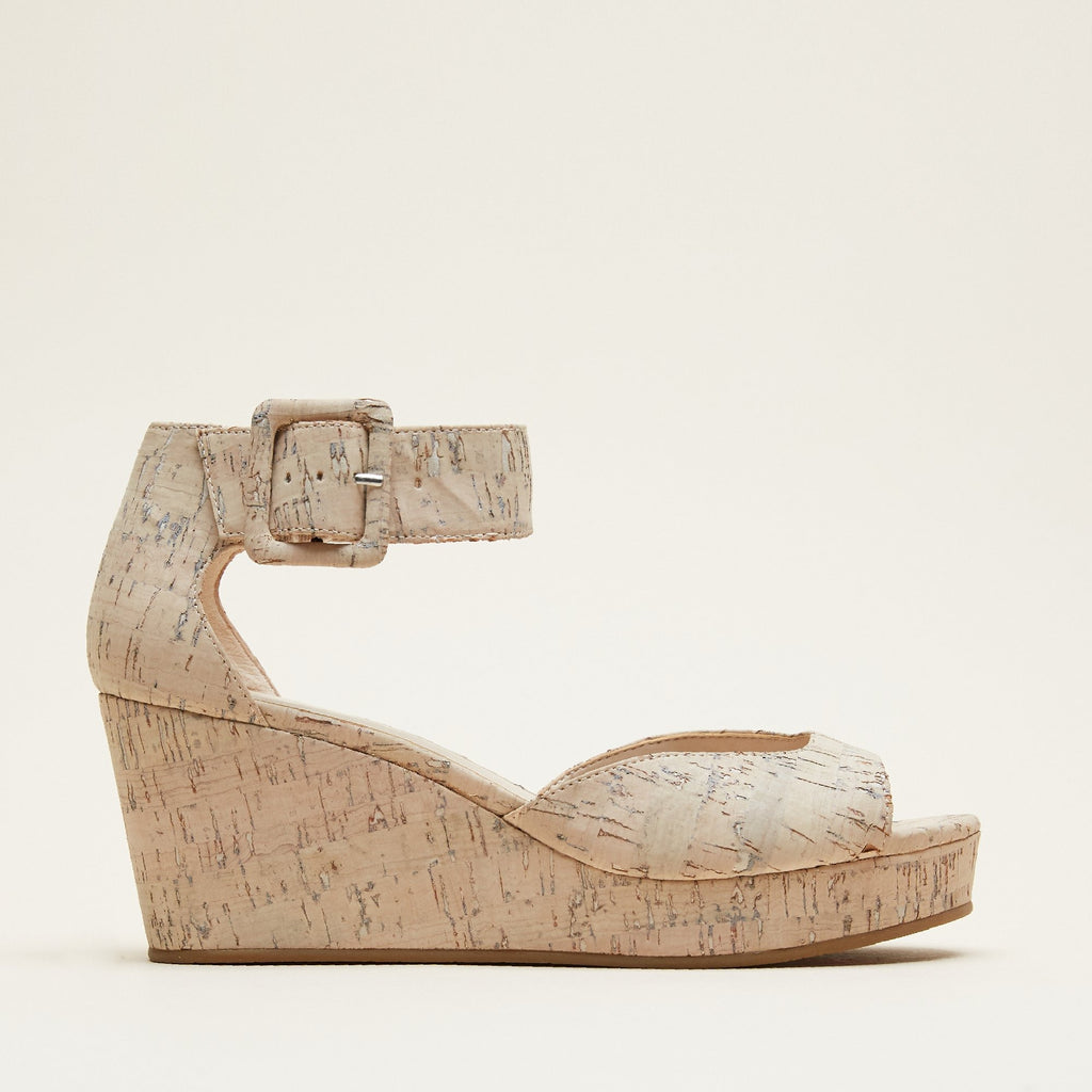 Pelle Moda - Koko (White / Washed Cork)