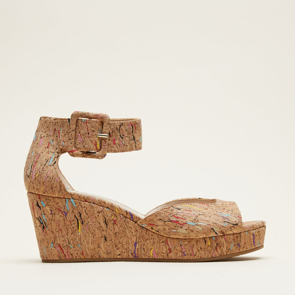Koko (Multi Color  / Cork) 50% Off
