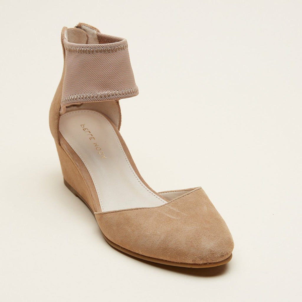 Kyler (Latte / Kid Suede / Stretch Mesh)