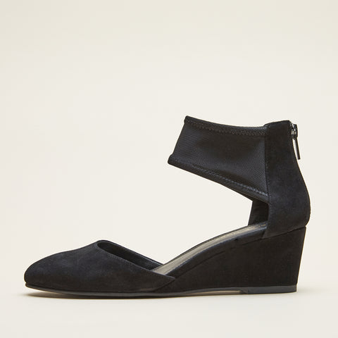 Zia (Black / Kid Suede)