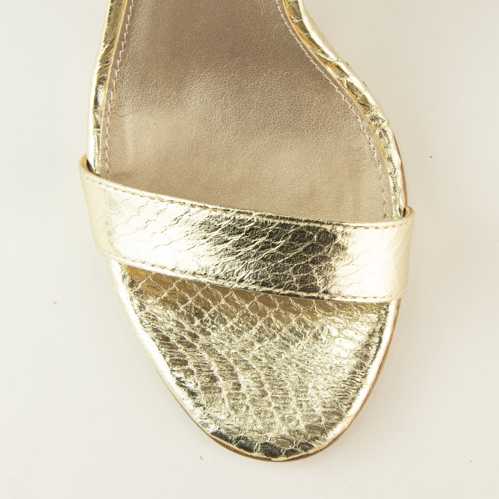 Kallie  (Gold Foiled / Snakeskin) 50% Off