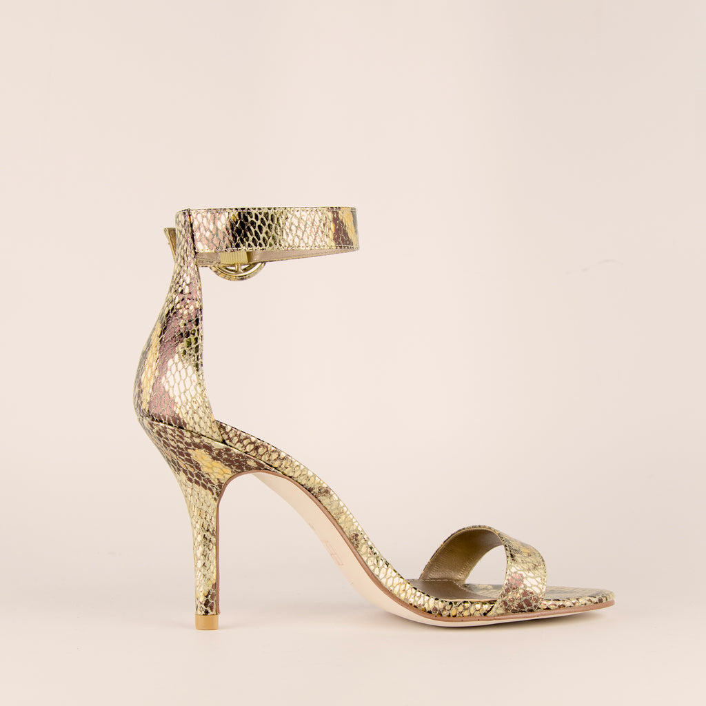Kallie  (Gold Multi/ Snakeskin) 50% Off