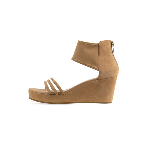 Bonnie 6 (Sand / Kid Suede & Linen) 60% Off