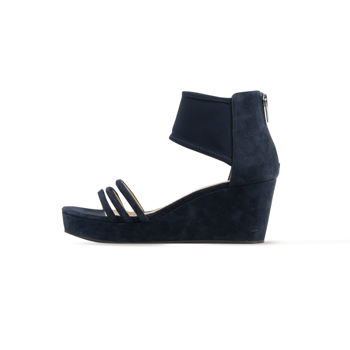 Katrice (Midnight/ Kid Suede/Stretch Mesh)