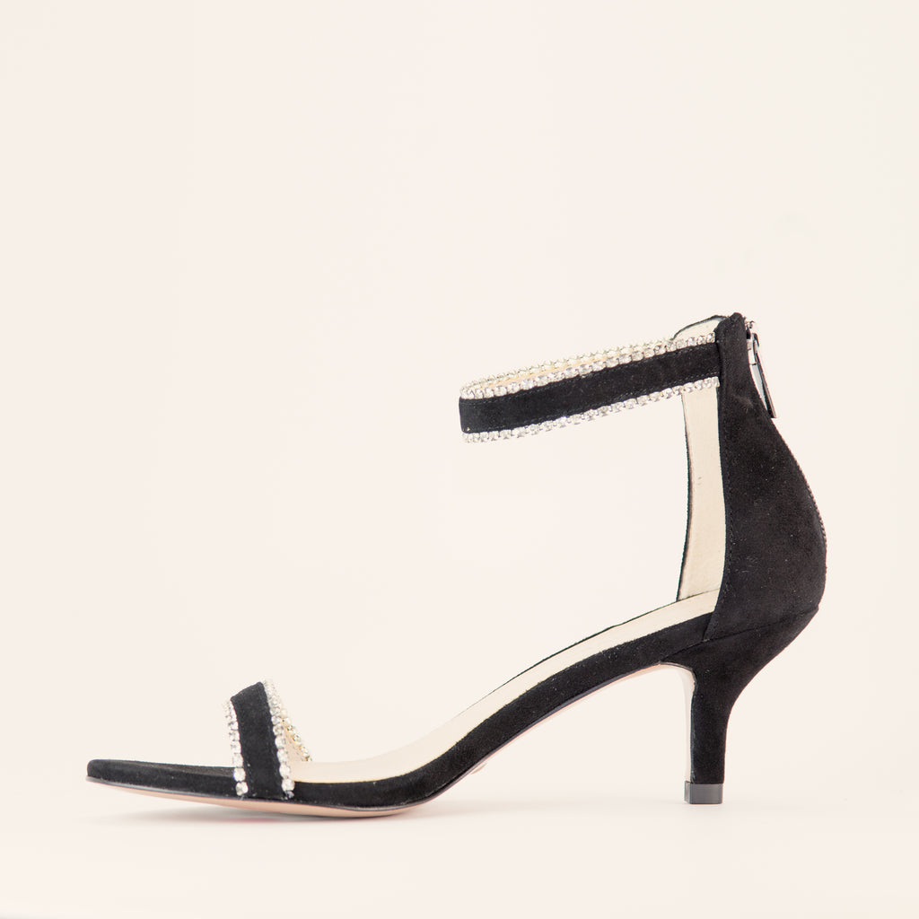 Lana  (Black / Kid Suede) 60% Off