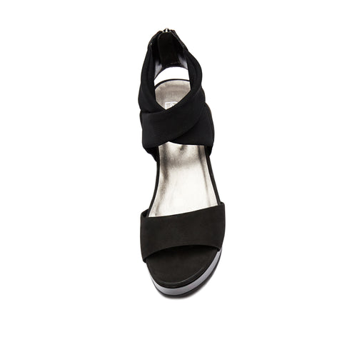 Lilo ( Black Nubuck  Leather/ Stretch Mesh) 25% Off