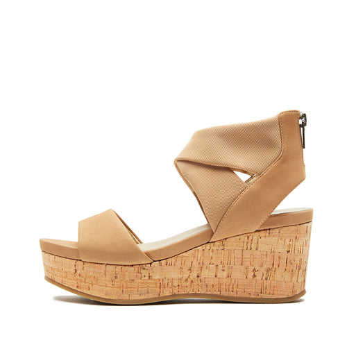 Lilo ( Latte Nubuck Leather/ Stretch Mesh) 25% Off