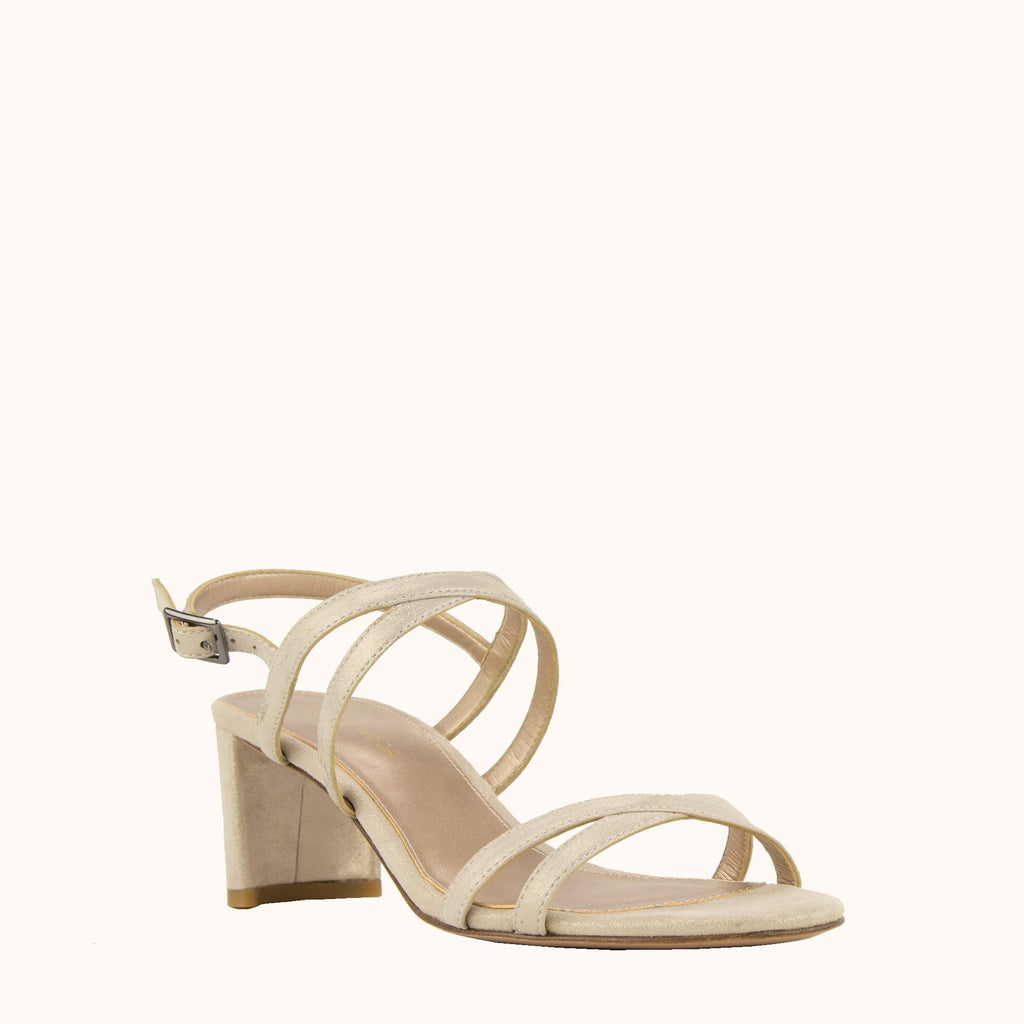 Layla Low Heel - Taupe