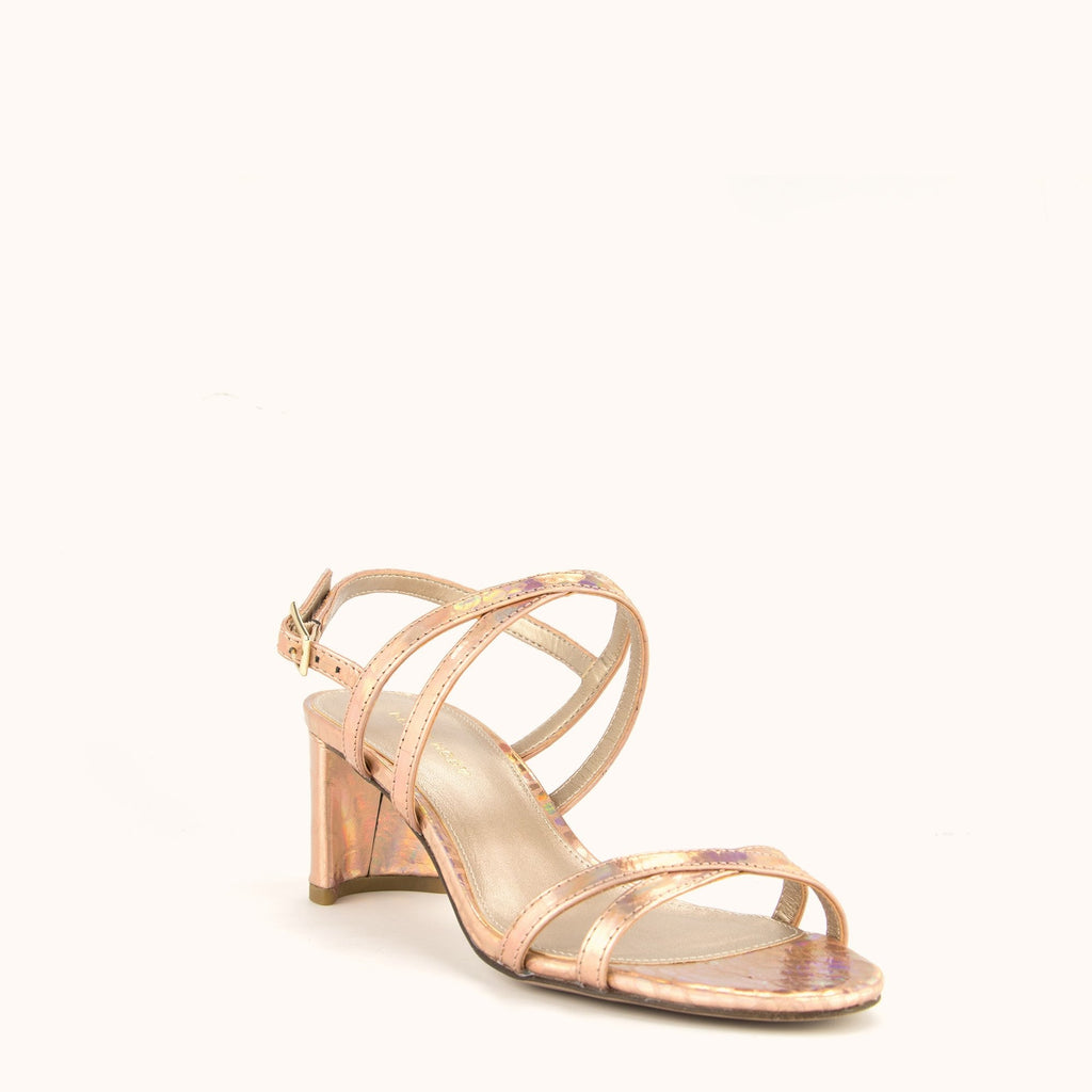 Layla Low Heel - Rose Gold
