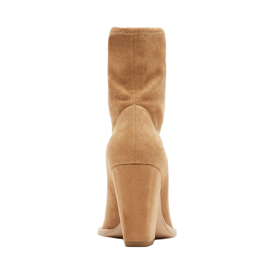 Natasha (Latte / Stretch Suede)