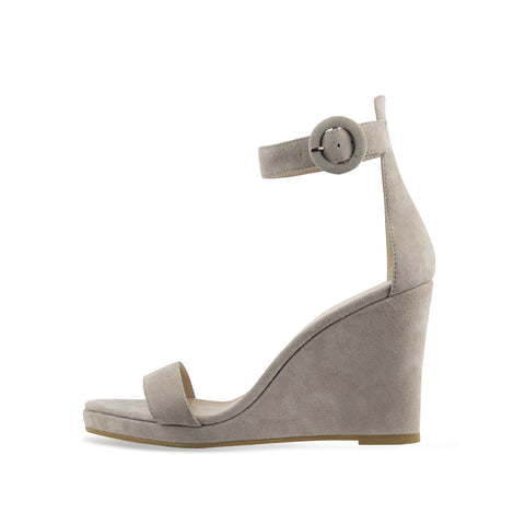 Ira (Silver/ Metallic Suede) 30% Off