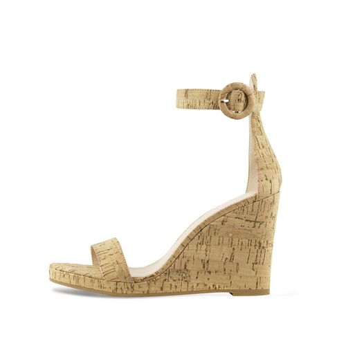 Nisha (Gold  /Washed Cork)