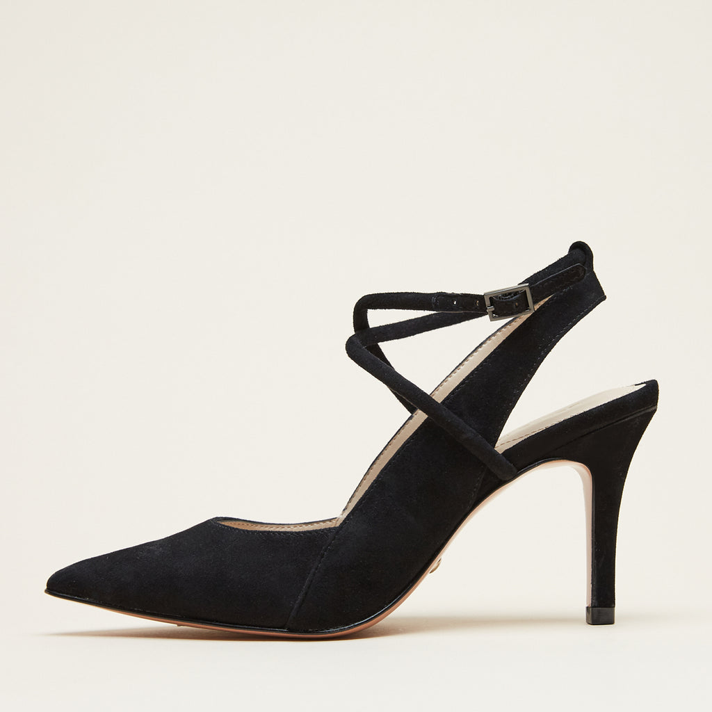 Winslet (Black/ Kid Suede)
