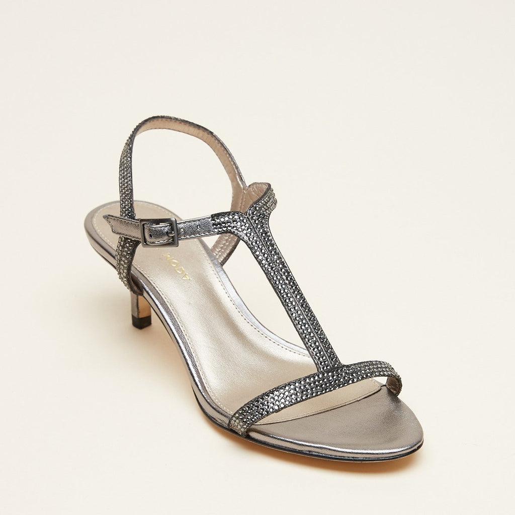 Fable (Pewter / Metallic Suede)